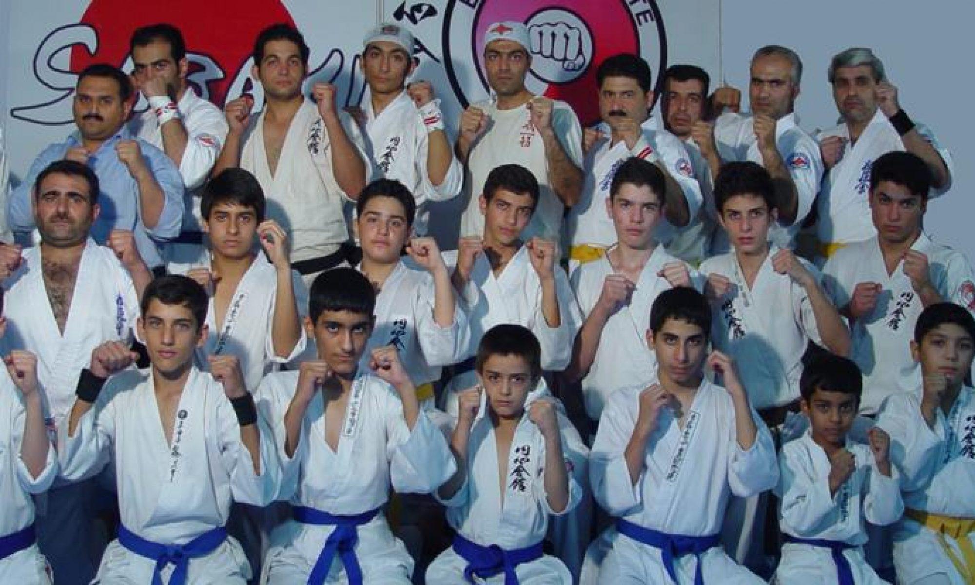 انشین کاراته غرب ایران